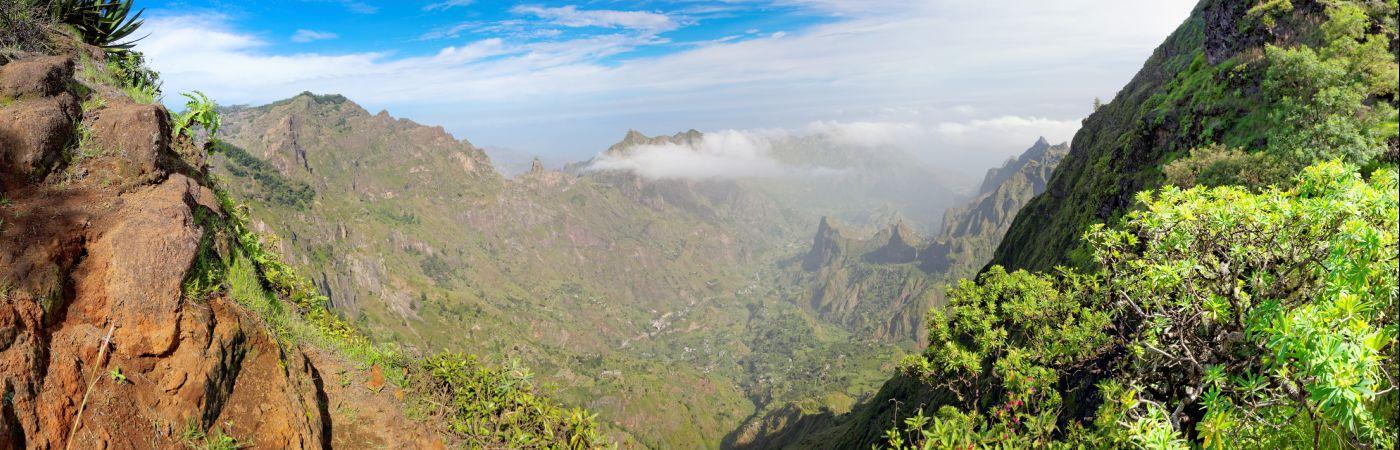 Île de Santo Antao au Cap vert
