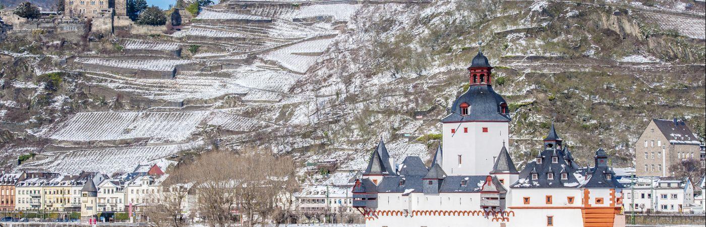 Le Rhin en hiver
