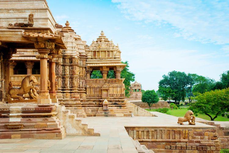 Temple Devi Jagdambi à Khajuraho