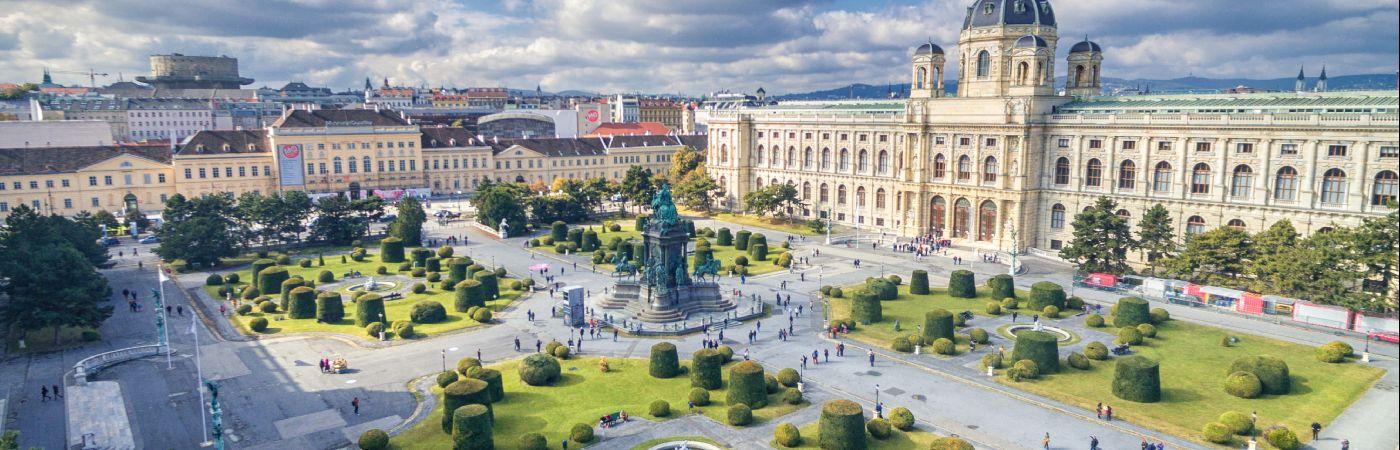 Maria Theresien Platz à Vienne