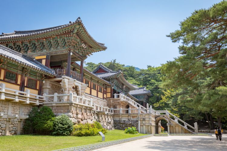 Temple Bulguksa à Gyeongju