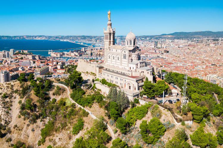 Notre-Dame-de-la-Garde à Marseille